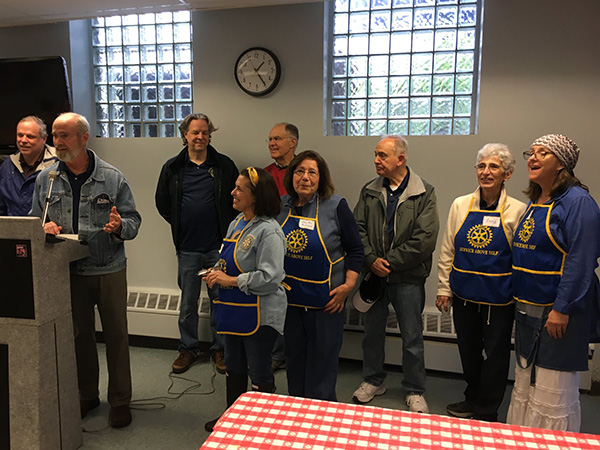 Croton Rotary Caring Committee breakfast